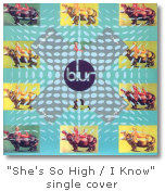 """She's So High / I Know"" single cover"