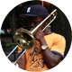 Saiph Graves of Hypnotic Brass Ensemble