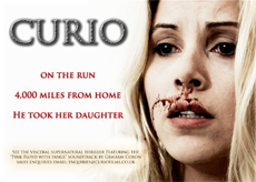 An advert for the movie Curio